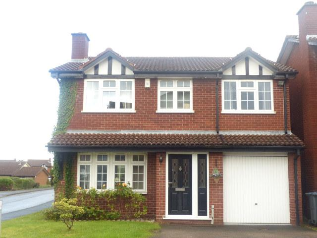 4 Bedrooms Detached House for sale in Yates Croft,Four Oaks,Sutton Coldfield