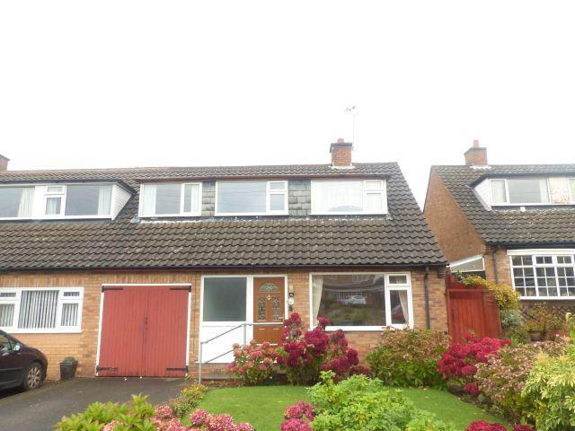 3 Bedrooms Semi Detached House for sale in Homestead Drive,Four Oaks,Sutton Coldfield