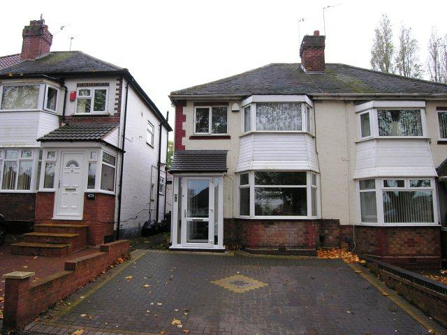 3 Bedrooms Semi Detached House for sale in Kingstanding Road,Kingstanding,Birmingham