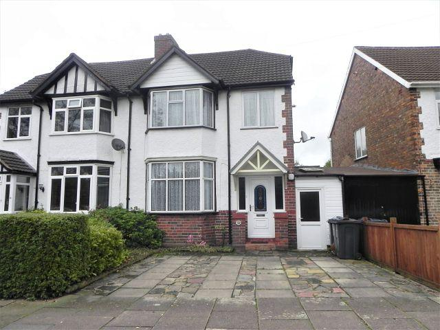 3 Bedrooms Semi Detached House for sale in Douay Road,Erdington,Birmingham