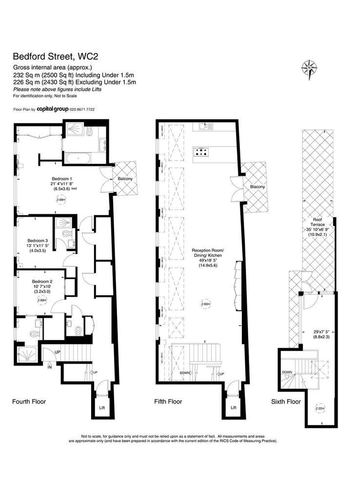 Floorplan: Bedford House