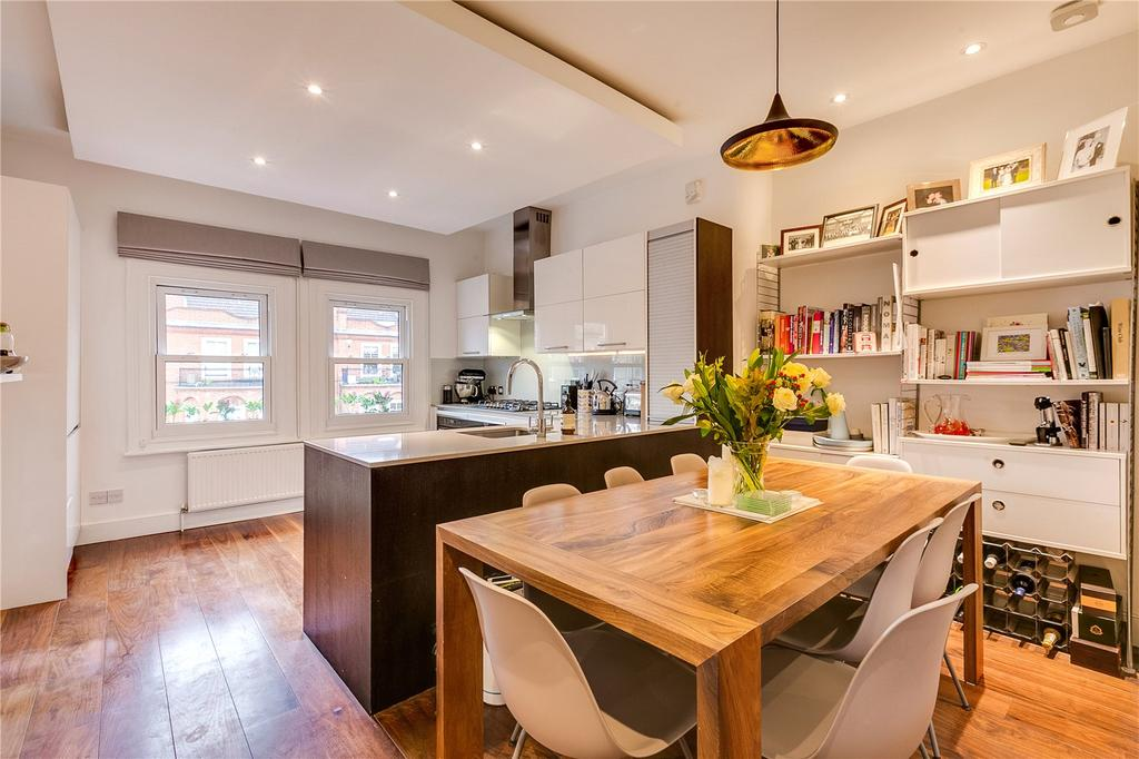 3 Bedrooms Flat for sale in Edith Road, West Kensington