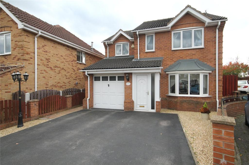 4 Bedrooms Detached House for sale in Granham Acre, Shafton, Barnsley, S72
