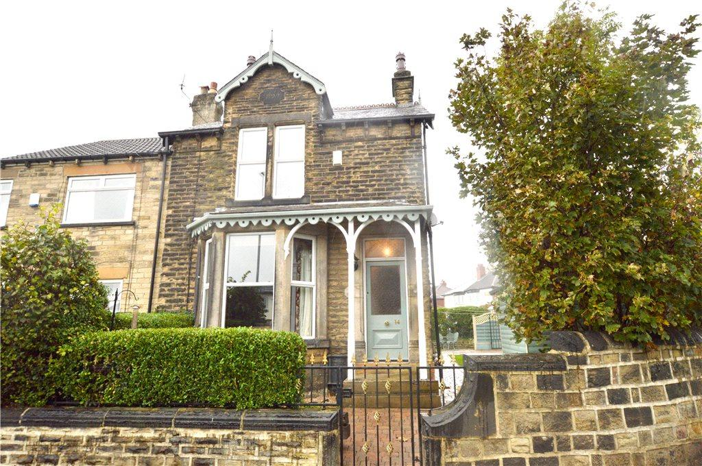3 Bedrooms Semi Detached House for sale in Grove Cottage, Whitecote Hill, Leeds, West Yorkshire