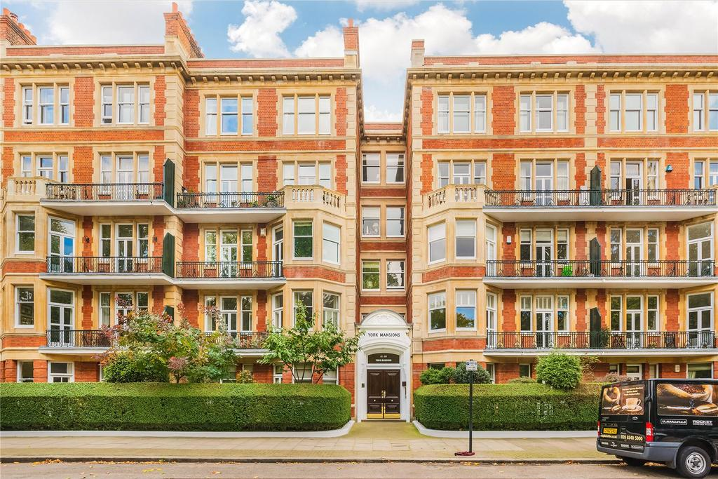 4 Bedrooms Flat for sale in York Mansions, Prince of Wales Drive, Battersea, London, SW11