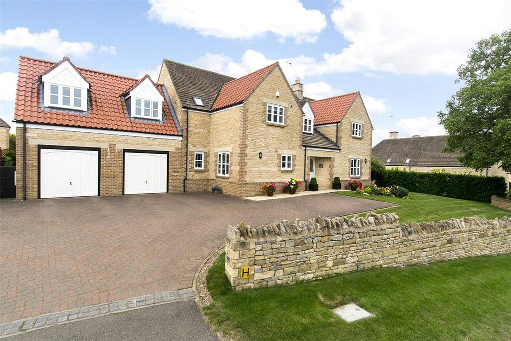 5 Bedrooms Detached House for sale in Hemington Road, Polebrook, Peterborough, Northamptonshire, PE8