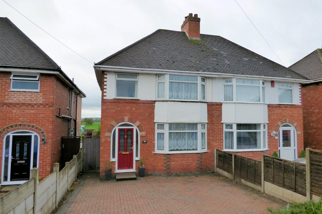3 Bedrooms Semi Detached House for sale in Stanton Road, Burton-on-Trent
