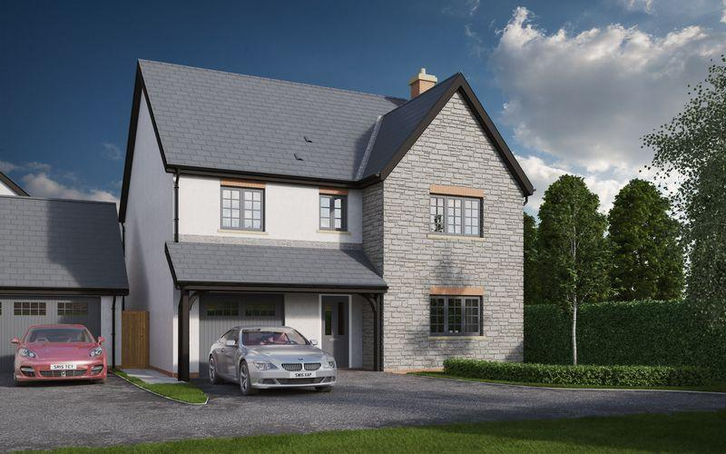 4 Bedrooms Detached House for sale in The Lythan, St Nicholas Fields, Cowbridge Road, St Nicholas, CF5 6SH