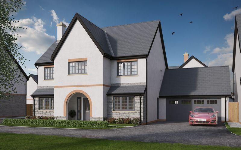 4 Bedrooms Detached House for sale in The Culver, St Nicholas Fields, Cowbridge Road, St Nicholas, CF5 6SH