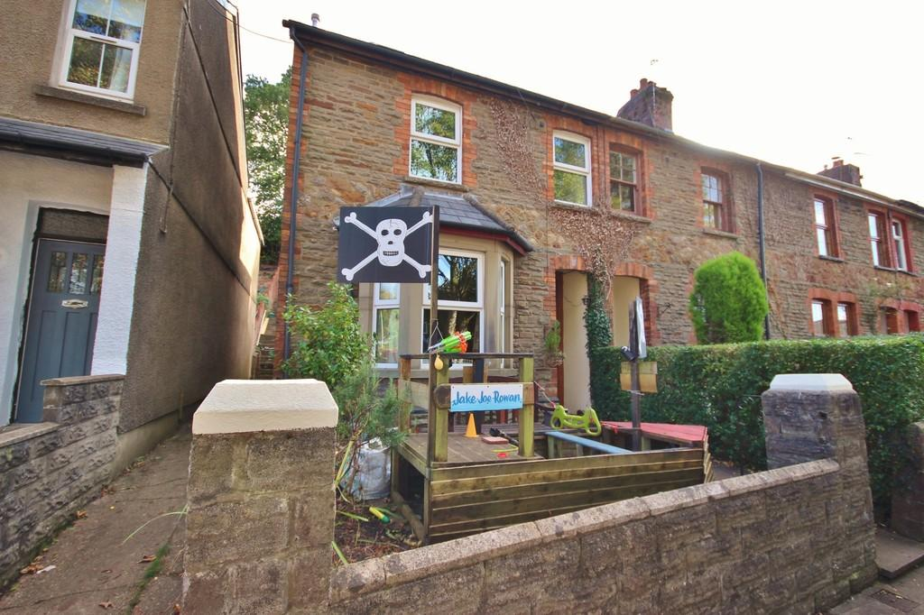 3 Bedrooms End Of Terrace House for sale in Ironbridge Road, Tongywnlais, Cardiff
