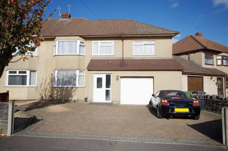 4 Bedrooms Semi Detached House for sale in Bush Avenue, Little Stoke, Bristol