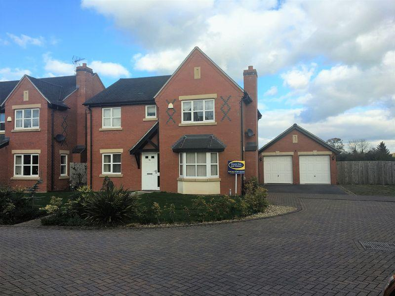 4 Bedrooms Detached House for sale in The Meadows, Ellesmere