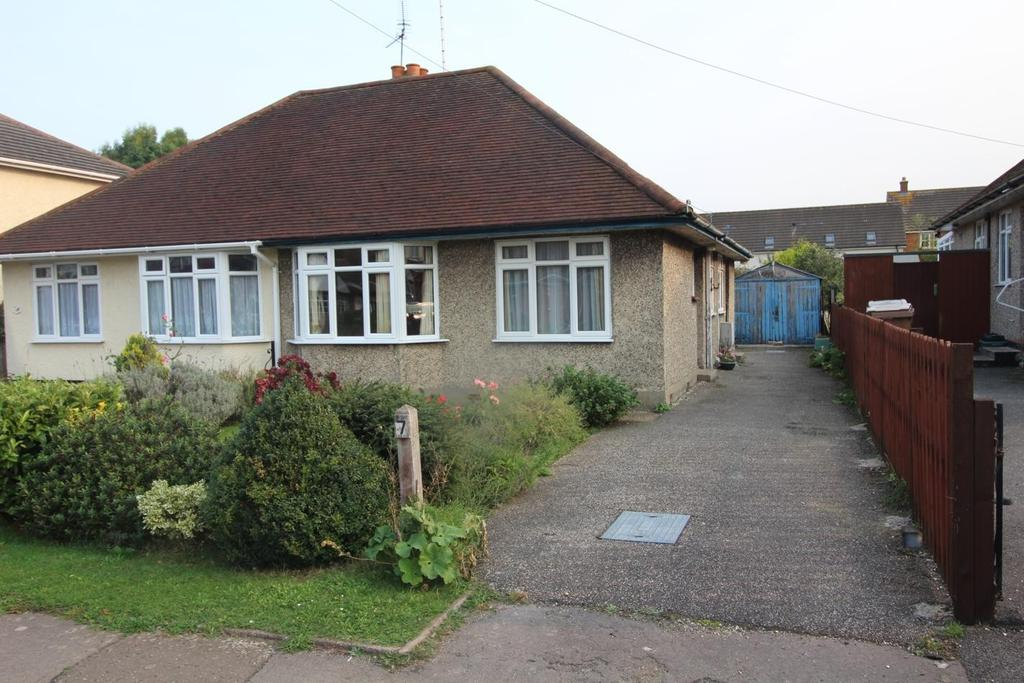2 Bedrooms Semi Detached Bungalow for sale in Baddow Hall Crescent, Chelmsford, Essex, CM2