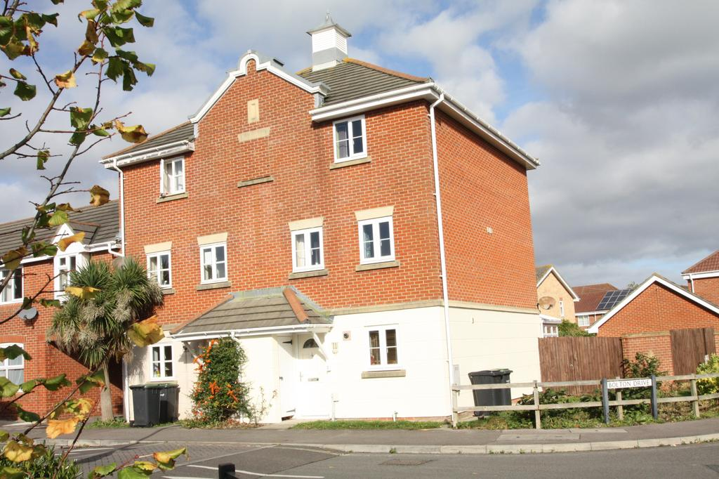 4 Bedrooms End Of Terrace House for sale in Bolton Drive, Priddy's Hard, Gosport PO12