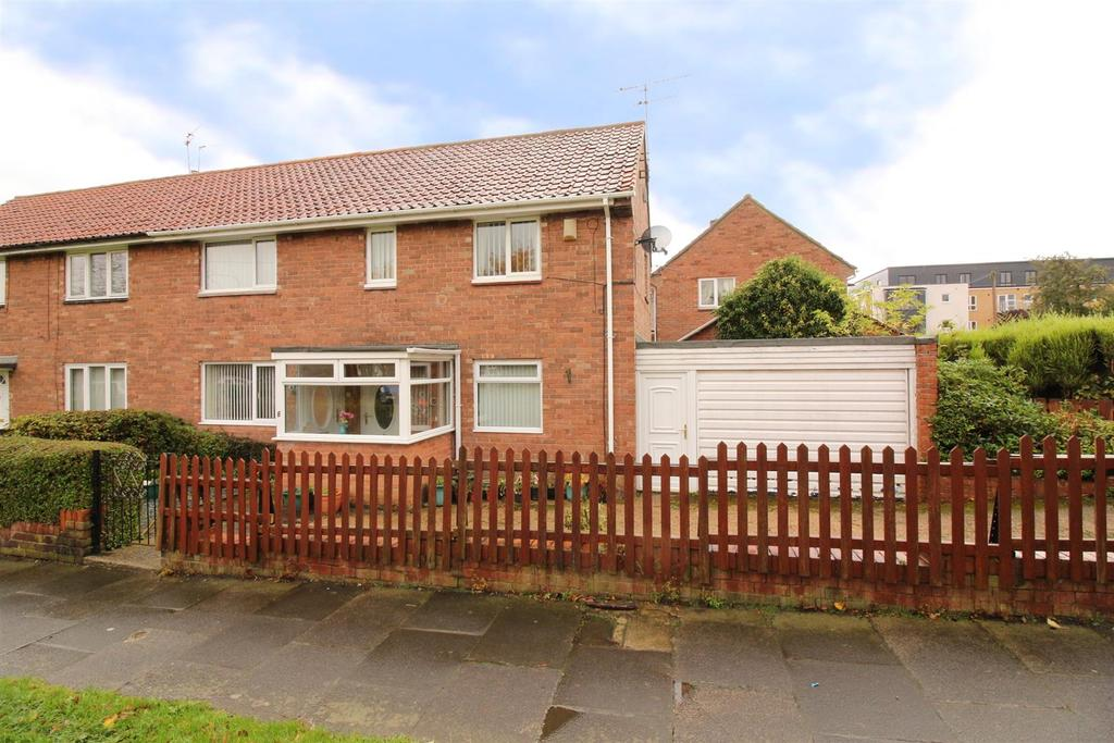 3 Bedrooms Semi Detached House for sale in Harvard Road, Newcastle Upon Tyne