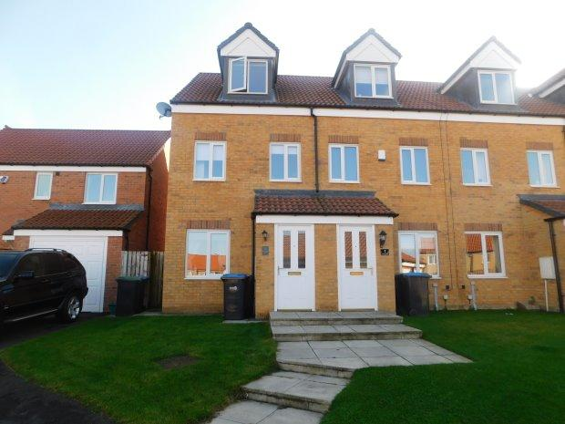 3 Bedrooms Terraced House for sale in NICHOLSON COURT, COUNDON, BISHOP AUCKLAND
