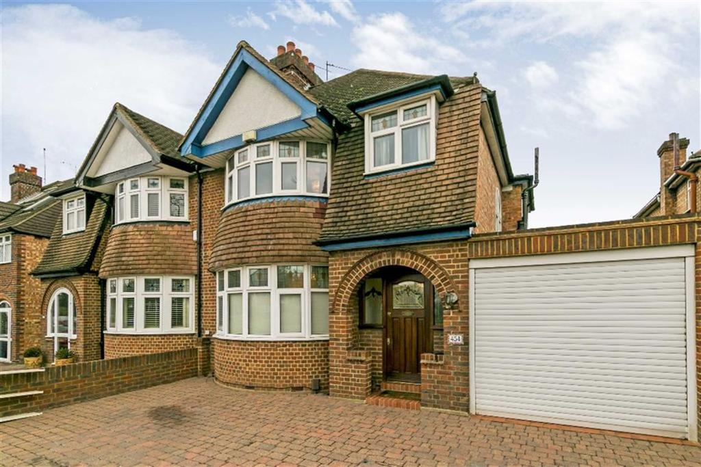 3 Bedrooms Semi Detached House for sale in Kingston Road, Epsom, Surrey
