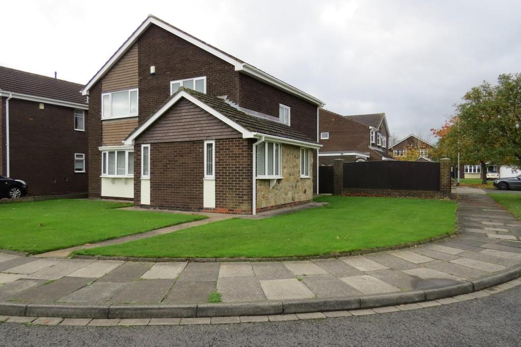 4 Bedrooms Detached House for sale in Kittiwake Close, Blyth