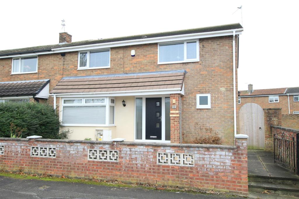 4 Bedrooms Semi Detached House for sale in Stanfield Road, Newton Aycliffe