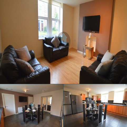 6 bedroom terraced house to rent - Fifth Avenue, Heaton, Newcastle upon Tyne NE6