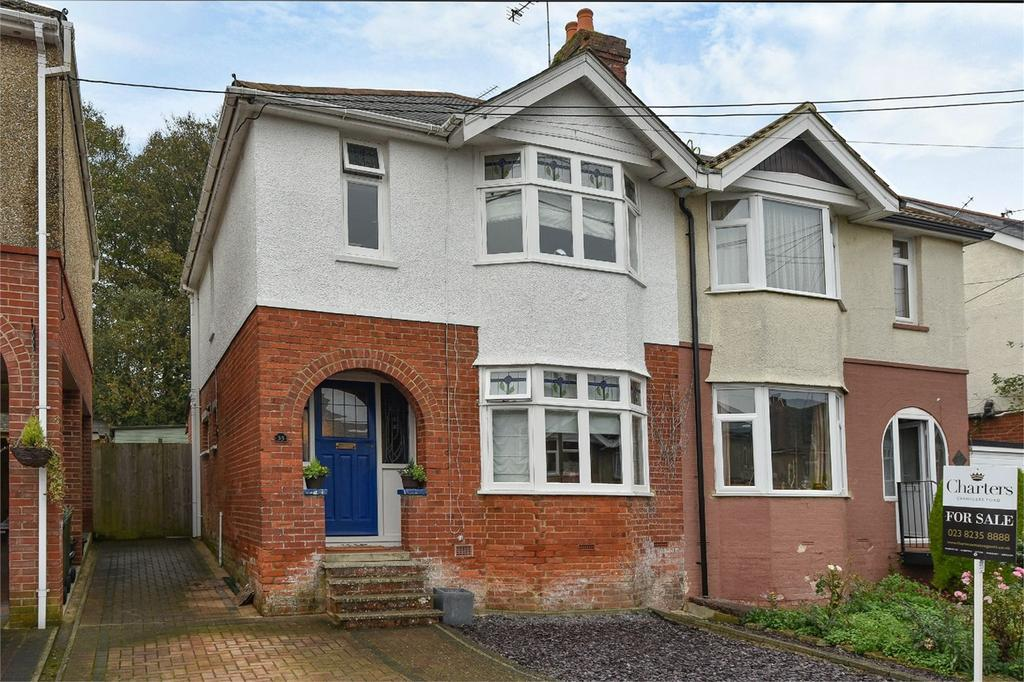3 Bedrooms Semi Detached House for sale in Edward Avenue, Bishopstoke, Hampshire
