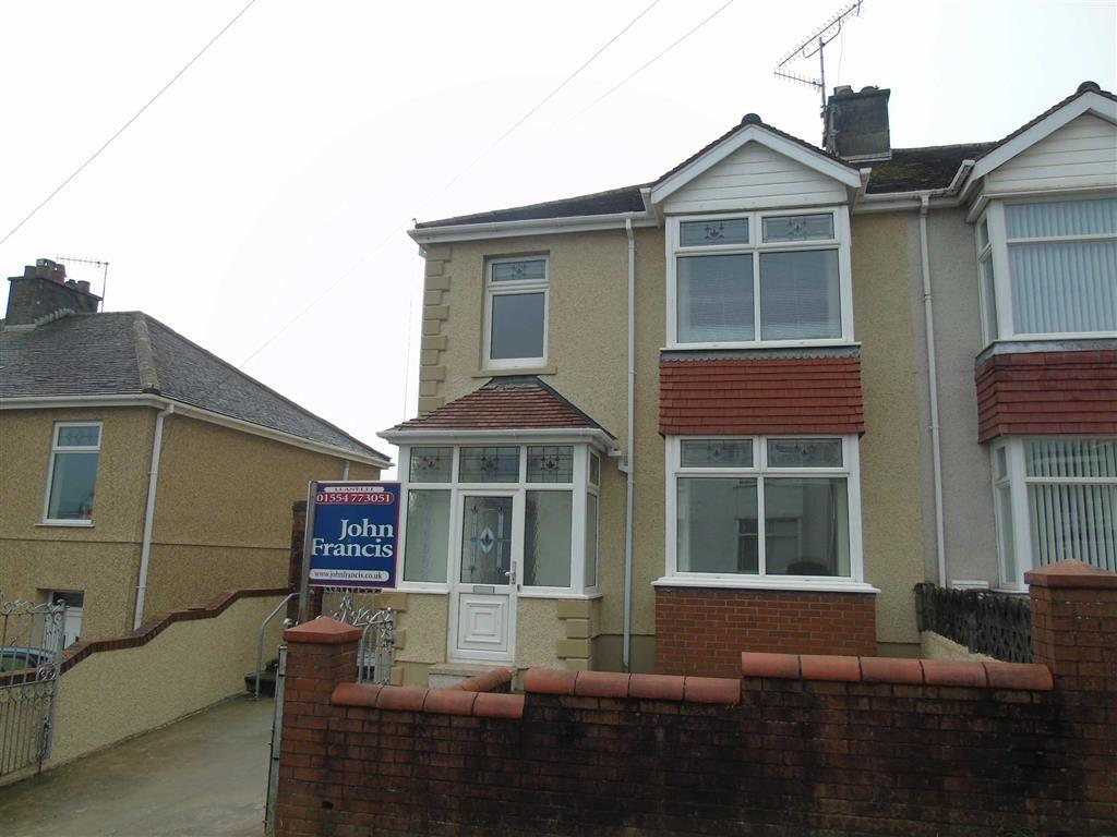 3 Bedrooms Semi Detached House for sale in High Mead Avenue, Llanelli