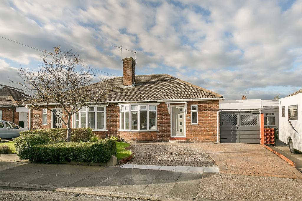 2 Bedrooms Semi Detached Bungalow for sale in Larchwood Avenue, North Gosforth, Newcastle Upon Tyne