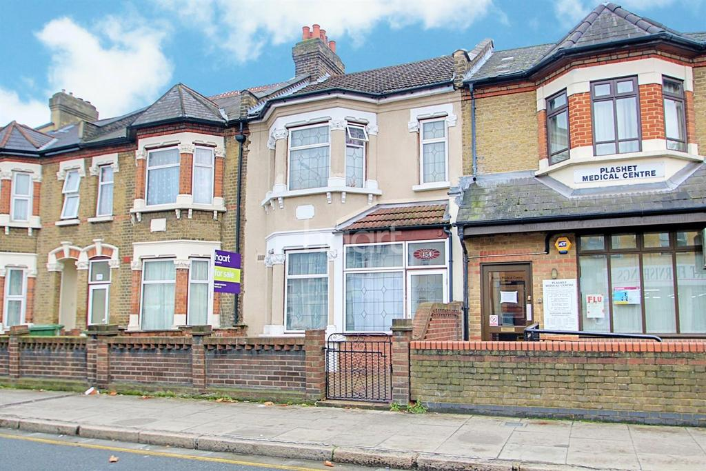 3 Bedrooms Terraced House for sale in Plashet Road, Upton Park