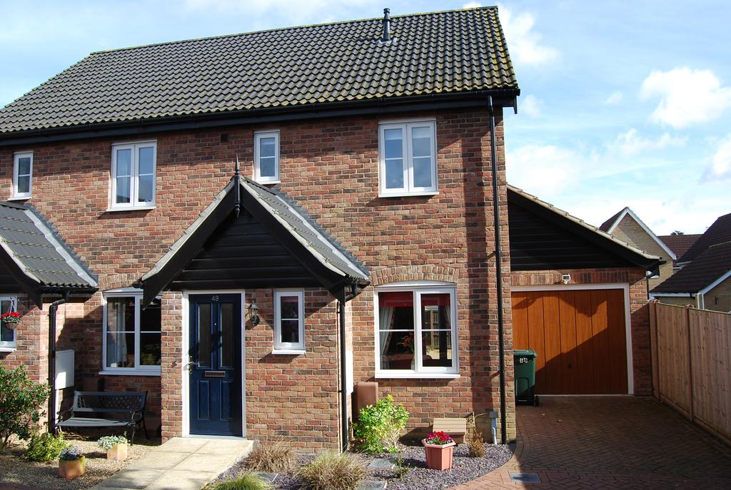 2 Bedrooms End Of Terrace House for sale in Captain Ford Way, Dereham NR19