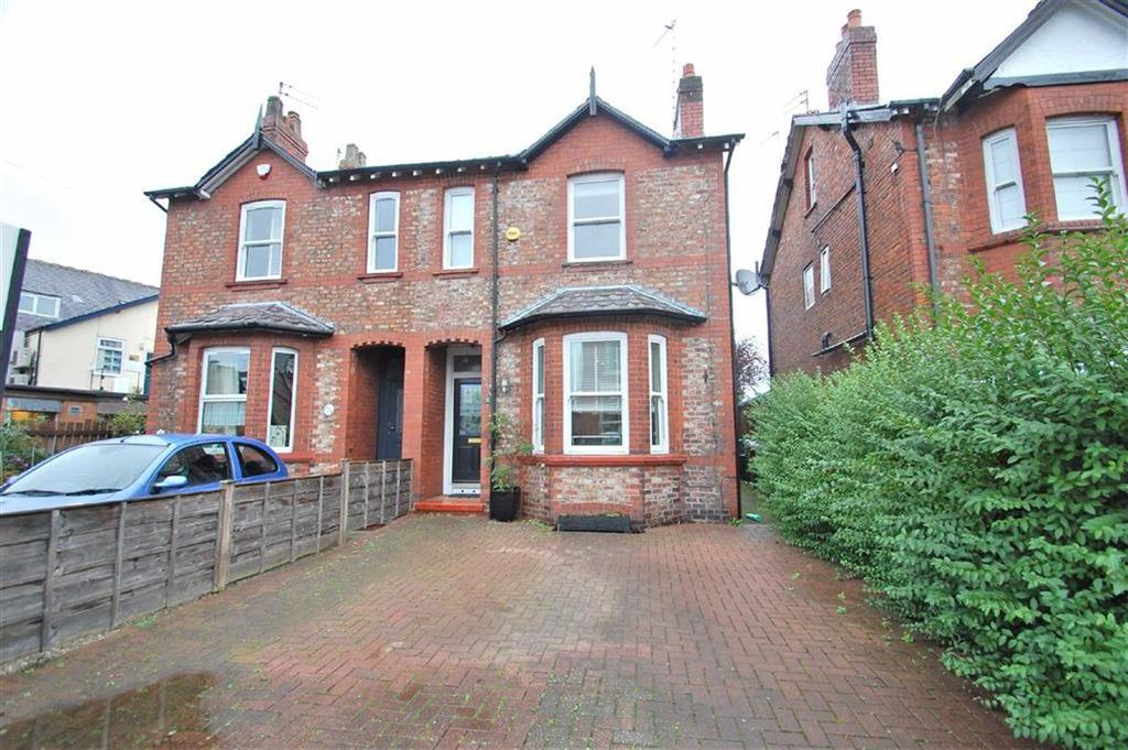 3 Bedrooms Semi Detached House for sale in Lumb Lane, Bramhall, Cheshire