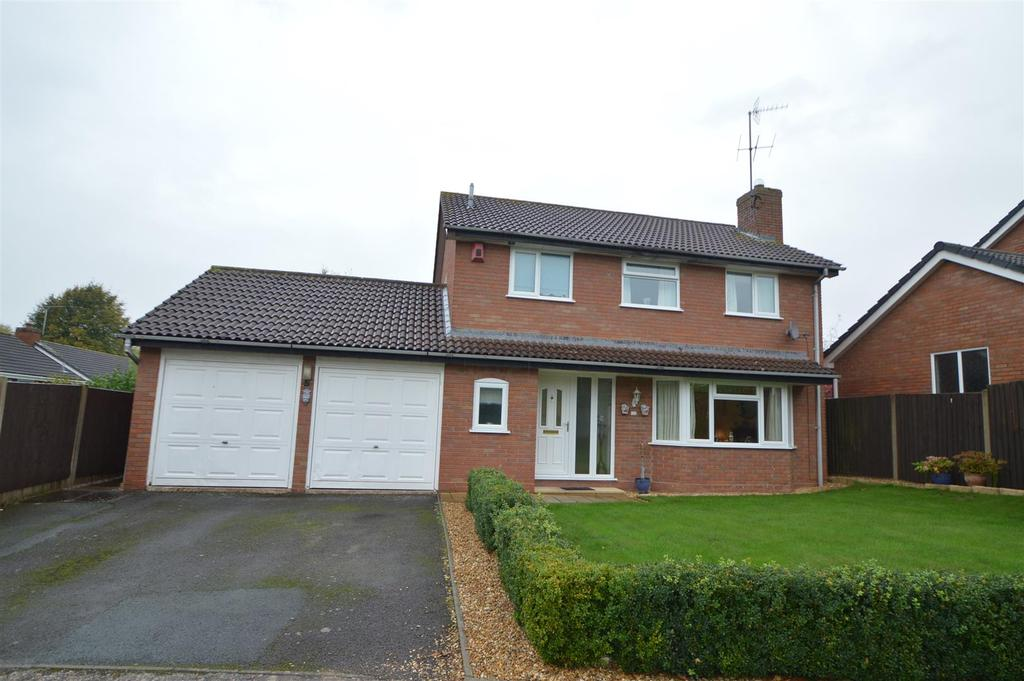 4 Bedrooms Detached House for sale in 26 Kenton Drive, Shrewsbury SY2 6TH