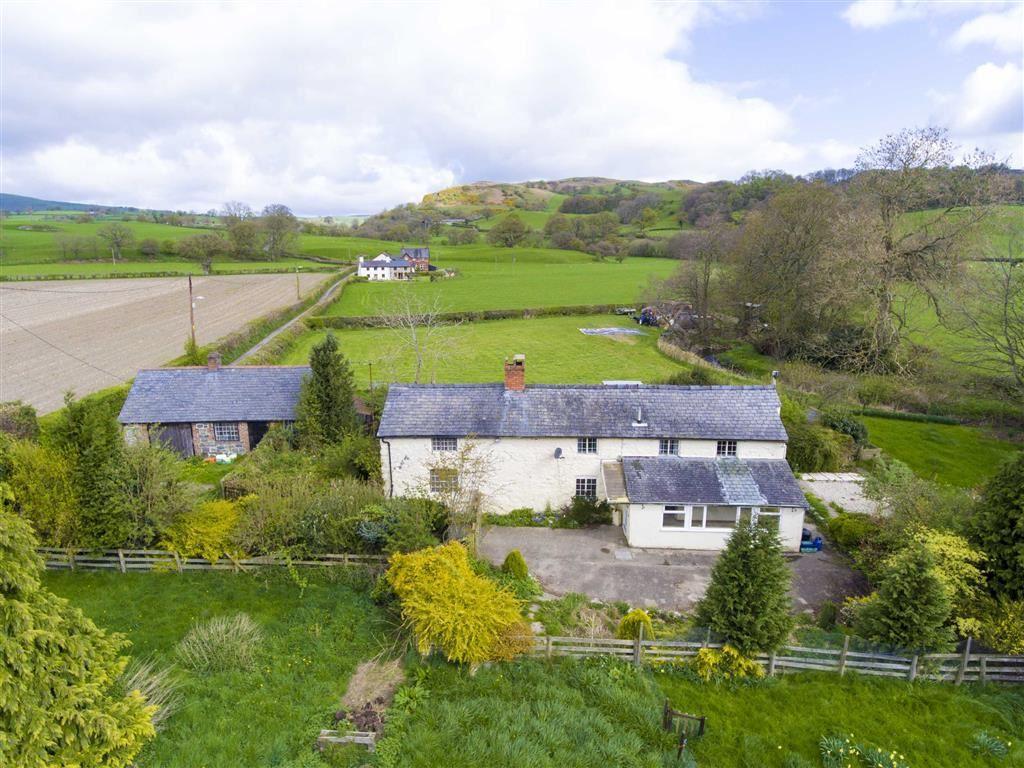 2 Bedrooms Semi Detached House for sale in 2, Glanrafon Cottages, Pentre Felin, Llangedwyn, Powys, SY10