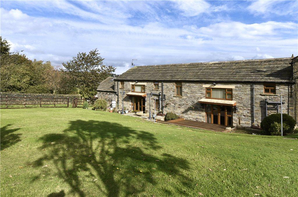 5 Bedrooms Semi Detached House for sale in The Barn, Upper Hoyle Ing, Thornton, Bradford, West Yorkshire