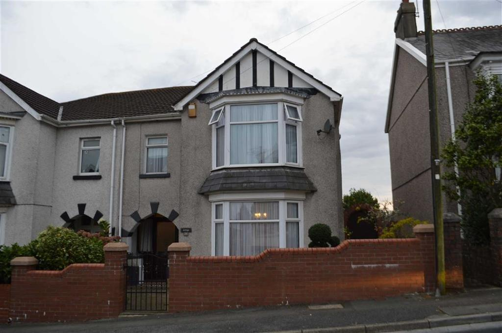 4 Bedrooms Semi Detached House for sale in Carnglas Road, Swansea, SA2