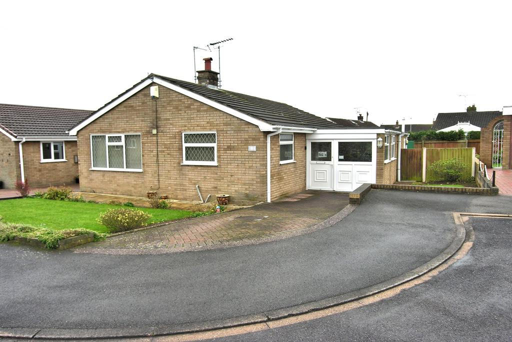 2 Bedrooms Detached Bungalow for sale in MAGNOLIA CLOSE, GREAT BRIDGEFORD, STAFFORD ST18