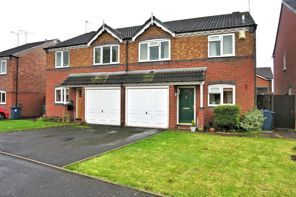 3 Bedrooms Semi Detached House for sale in BARKER CLOSE, CASTLEFIELDS, STAFFORD ST16
