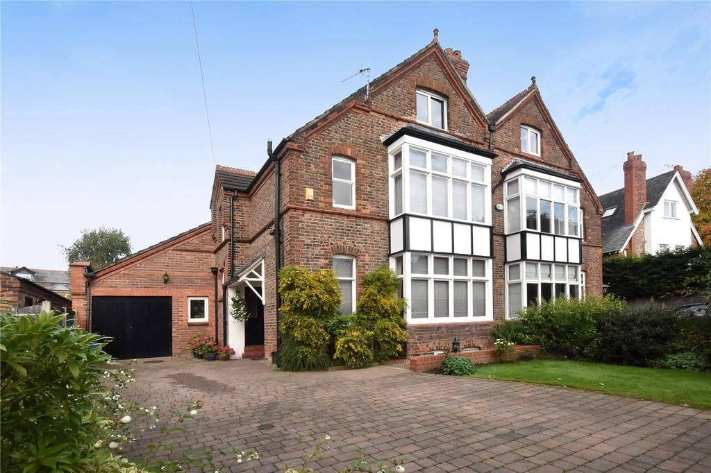 5 Bedrooms Semi Detached House for sale in Lisson Grove, Hale, Cheshire, WA15