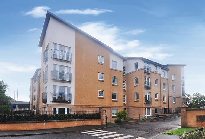 1 Bedroom Flat for sale in 10 Hilltree Court, 96 Fenwick Road, Giffnock, G46 6AA