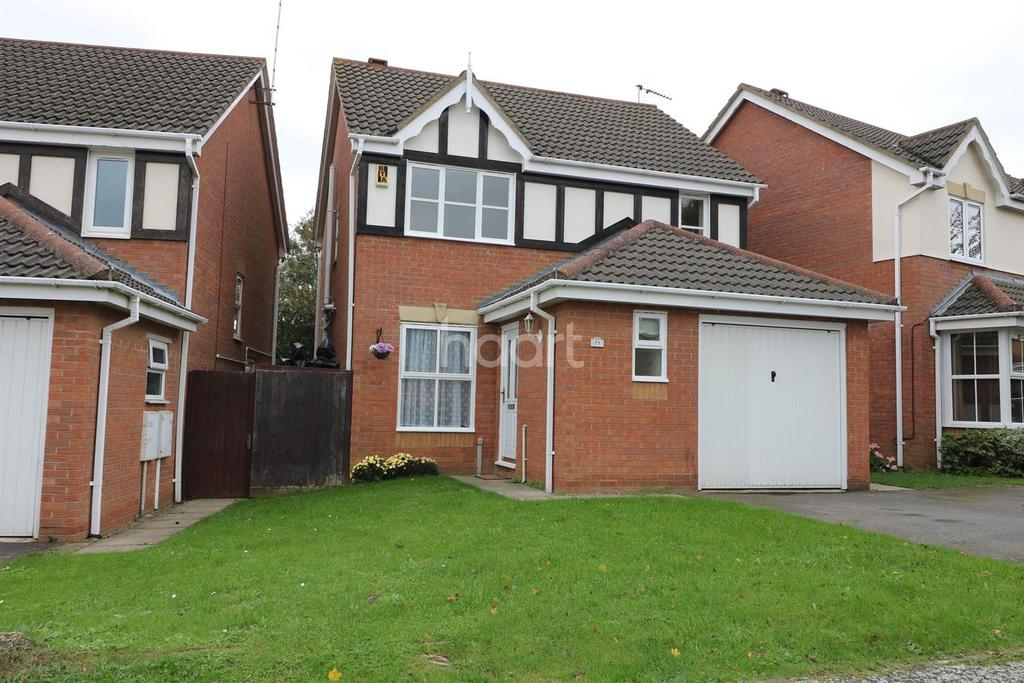3 Bedrooms Detached House for sale in LEAH BANK, NORTHAMPTON