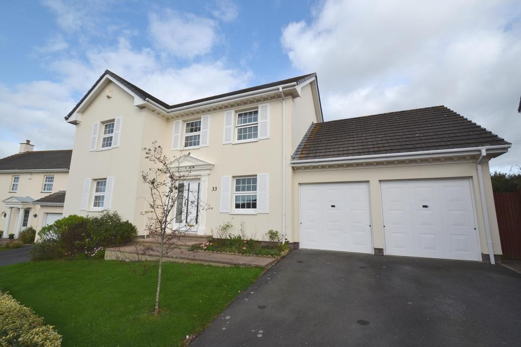 4 Bedrooms Detached House for sale in Lower Cross Road, Bickington