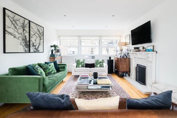 3 Bedrooms Flat for sale in Pembridge Villas, London, W11