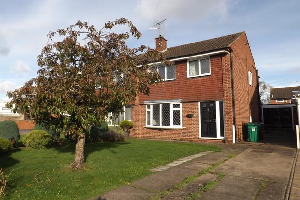 3 Bedrooms Semi Detached House for sale in Apollo Drive, Bulwell, Nottingham, NG6