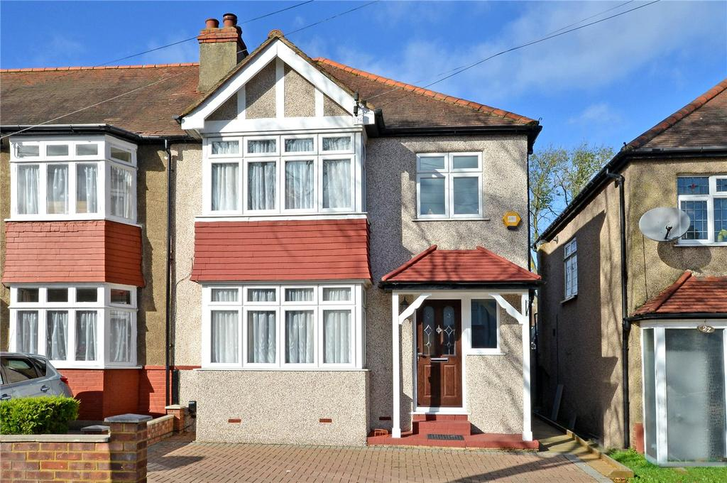 3 Bedrooms End Of Terrace House for sale in Priory Road, Cheam, Sutton, SM3