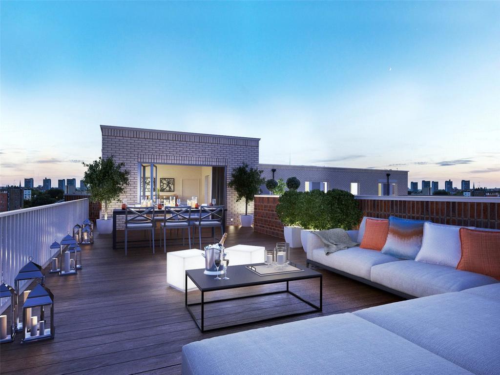 2 Bedrooms Flat for sale in Bourne EC1, Dobson Court, Bourne Estate, London, EC1N