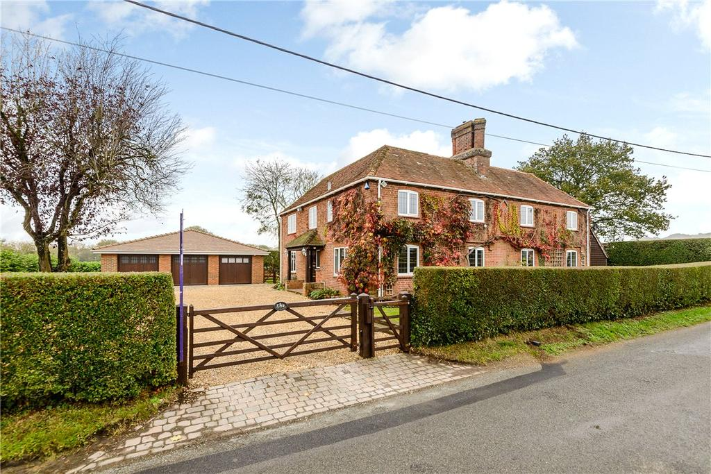 4 Bedrooms Detached House for sale in Oare, Hermitage, Thatcham, Berkshire, RG18