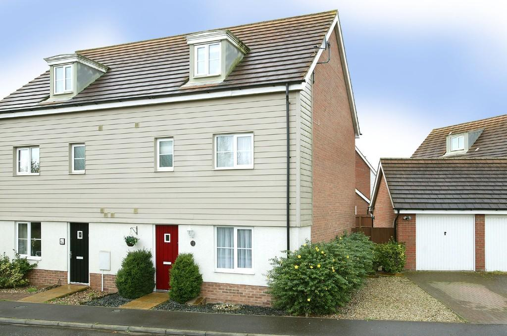 4 Bedrooms Town House for sale in Rose Avenue, Costessey