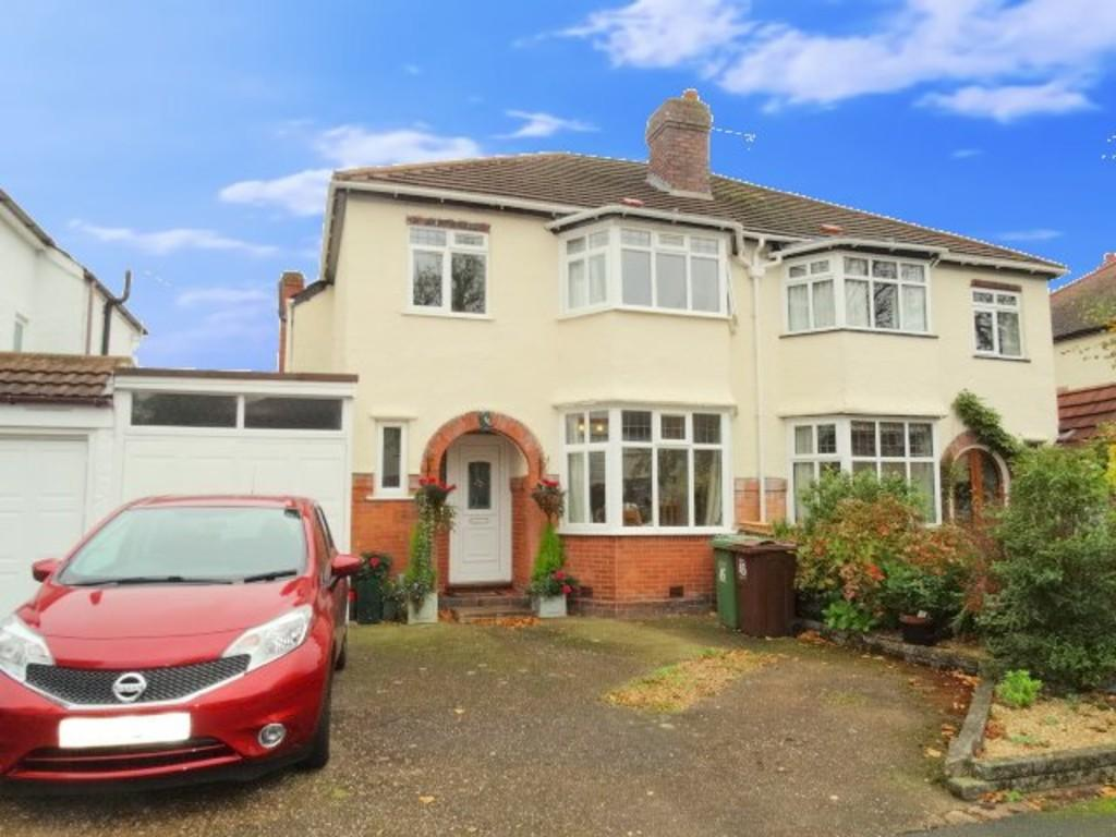 3 Bedrooms Semi Detached House for sale in Cropthorne Road, Shirley