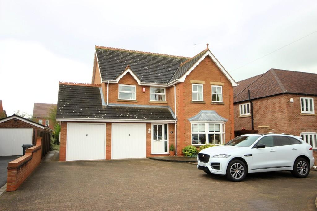4 Bedrooms Detached House for sale in Atherstone Road, Measham