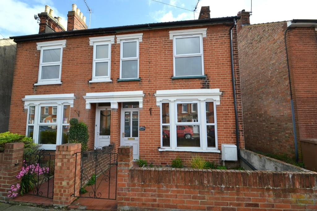 2 Bedrooms Semi Detached House for sale in Leopold Road, Ipswich, IP4 4RR