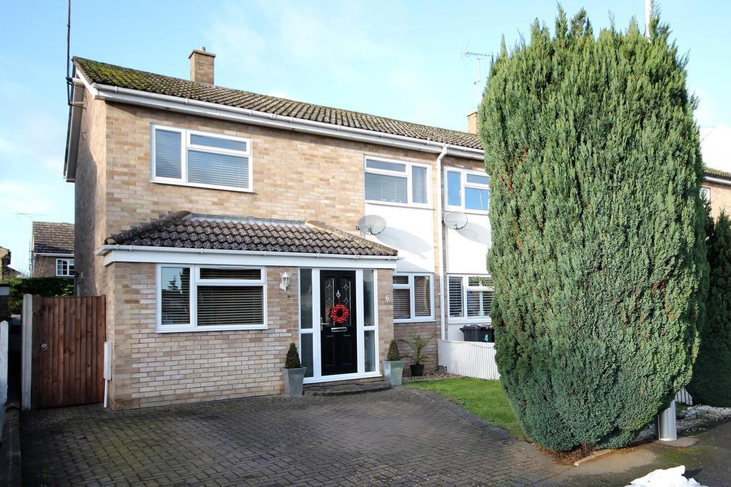 3 Bedrooms Semi Detached House for sale in Riverside, Shefford, SG17